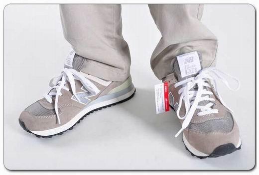 New Balance三原色復古男女跑鞋ML574VG/VN/VB 情侶鞋 休閒運動鞋(經典灰)