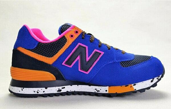 New Balance-新百倫574-攀岩系列WL574OGP 情侶慢跑鞋 運動休閒鞋(深藍黑36-44)