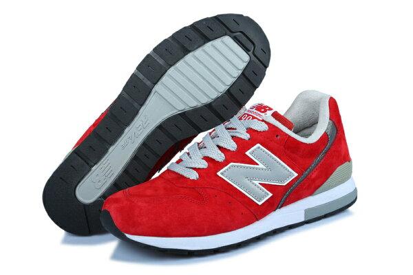 New Balance/新百倫MRL996AY情侶鞋運動休閒鞋(紅色36-44)