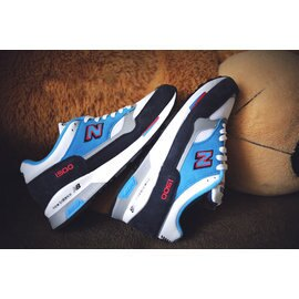 New Balance/新百倫 M1500RBO 英產聯名限量款 男生慢跑鞋 運動休閒鞋 (藍白色40-44)