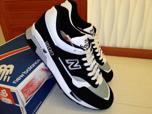 New Balance/新百倫 1500NWG 英產聯名限量款 男女生慢跑鞋 情侶運動休閒鞋 (黑白36-44)