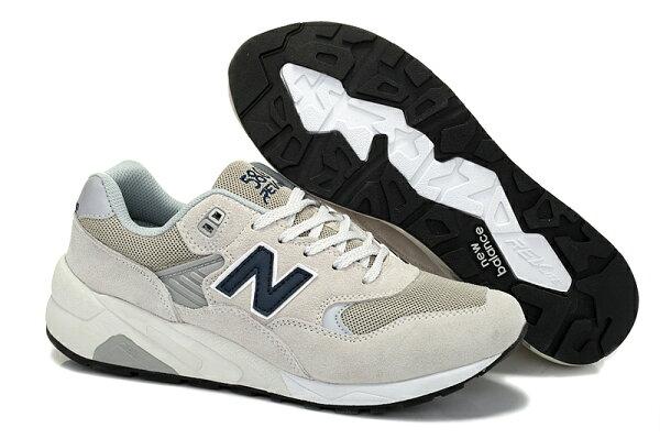 New Balance/新百倫 580二代 MRT580GY 復古鞋 男女鞋 跑步鞋 運動休閒鞋(元祖灰36-44)