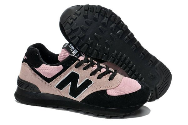 New Balance 新百倫US574M1第一彈 黑暗騎士 女鞋 運動休閒鞋 慢跑鞋(36—39黑粉色)