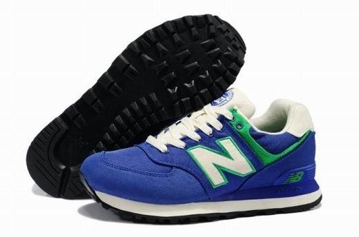 New Balance 新百倫ML574RUR常春藤系列情侶運動鞋 休閒鞋 慢跑鞋(藍色)
