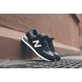 New Balance 新百倫 ML574PNW 復古時尚百搭情侶鞋 男女運動休閒鞋 慢跑鞋(黑色36-44)
