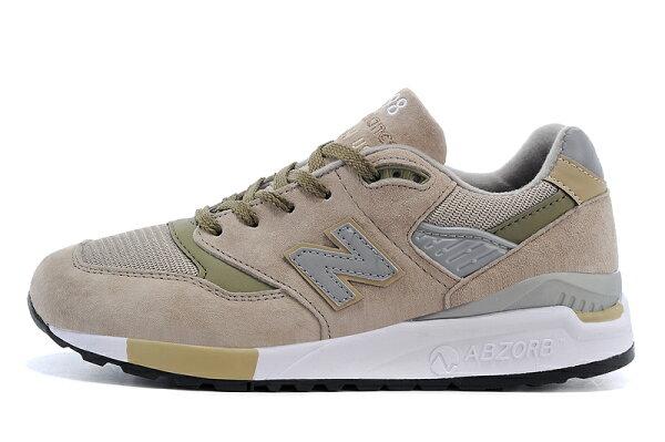 New balance 998跑步鞋 卡其灰 男鞋