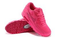 慢跑_路跑周邊商品推薦到NIKE/耐克NIKE AIR MAX 90 騷粉色氣墊女生慢跑鞋345017-601(騷粉色36-39)
