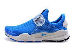 Nike SOCK DART SP/FRAGMENT 藤原浩 閃電 天藍 728748-401 男女情侶款