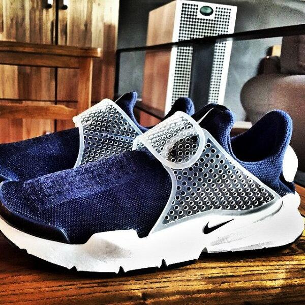 fragment design x Nike Sock Dart SP Lode 海軍藍 728748-400 情侶款