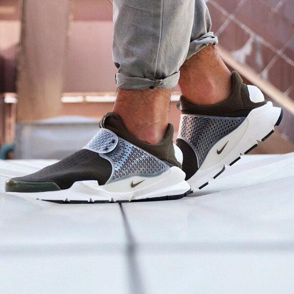 fragment design x NIKE Sock Dart SP Lode 藤原浩728748-300 棕綠情侶鞋