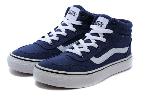 VANS 萬斯 永恆的經典 藍 震撼來襲 情侶鞋