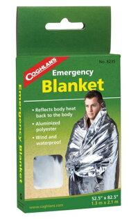【鄉野情戶外專業】 COGHLAN'S  加拿大   Emergency Blanket 緊急防災救生毯/求生毯/8235