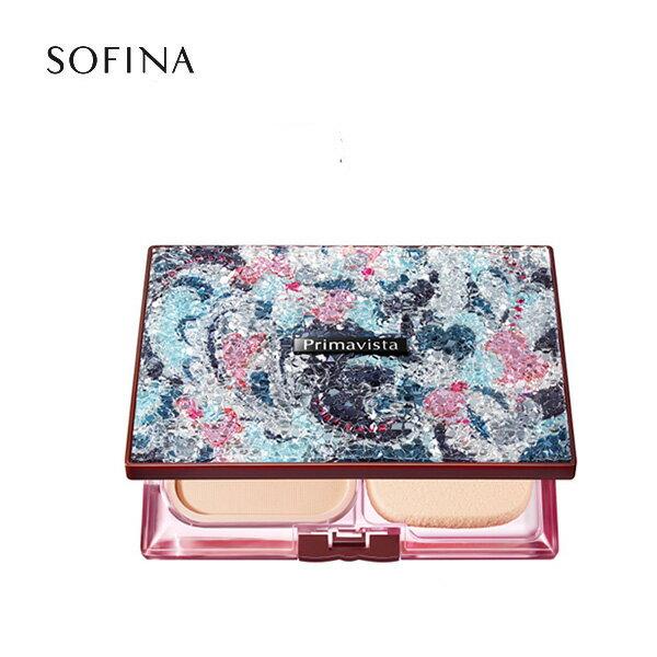 SOFINA蘇菲娜 Primavista  (2016限定版) Primavita 星燦樂園(霧灰藍) 限定粉餅盒《Umeme》