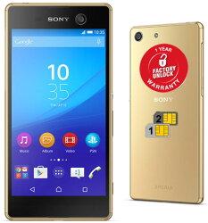 Sony Xperia M5 E5663 Dual Sim 16GB LTE/ Unlocked Phone (Gold)