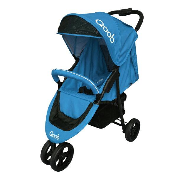 『121婦嬰用品館』法國Qoob 3S三輪嬰幼兒手推車 - 天空藍 0