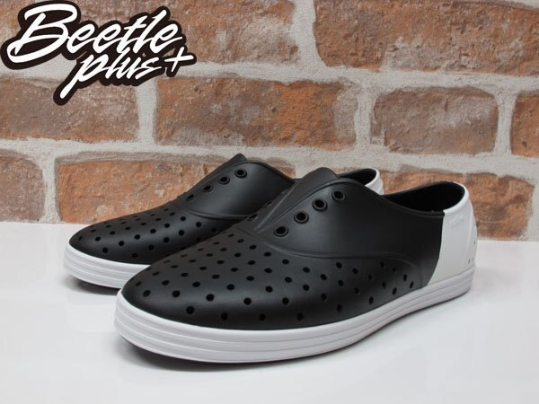BEETLE 2015 NATIVE JERICHO 黑白 雙色 OREO 色塊 拼接 超輕量 女鞋 休閒鞋 修身鞋 GLM04W-1239 1
