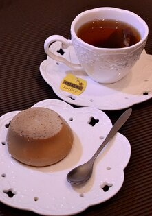 歐麥烘焙-伯爵奶茶烤布丁-100g