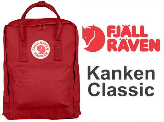 瑞典 FJALLRAVEN KANKEN   Classic 325 Deep Red 深紅 小狐狸包