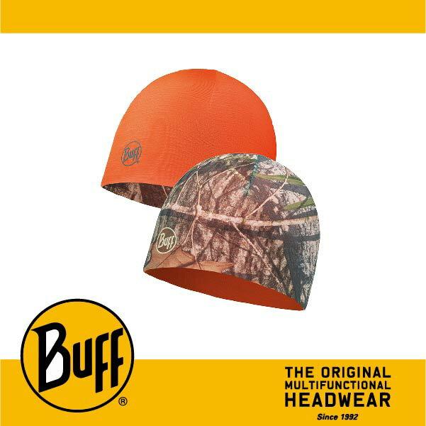BUFF 西班牙魔術頭巾 POLAR保暖系列 雙面帽 ^~觀察家 橡樹迷彩^~ BF108