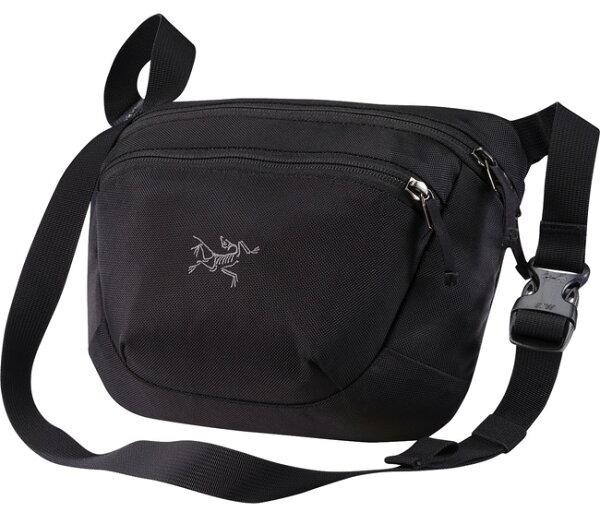 【鄉野情戶外專業】 ARCTERYX 始祖鳥  加拿大  MAKA 2 腰包/隨身包 旅行包 護照包 側背包-黑/17172 【容量3L】