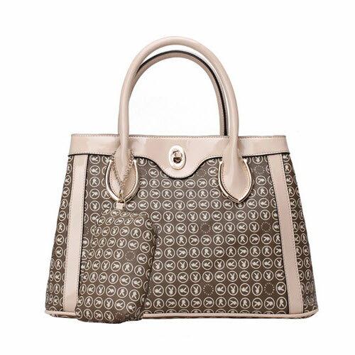 【橘子包舖P23922303】PLAYBOY女包包 雙層手提包.側背包