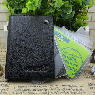 PLAYBOY.真皮卡夾.可放信用卡、會員卡【P140151】橘子包舖