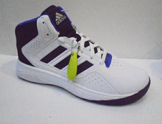 ADIDAS 愛迪達 CLOUDFOAM 平價 男款 籃球鞋 黑/白 DAQ1361 (陽光樂活)