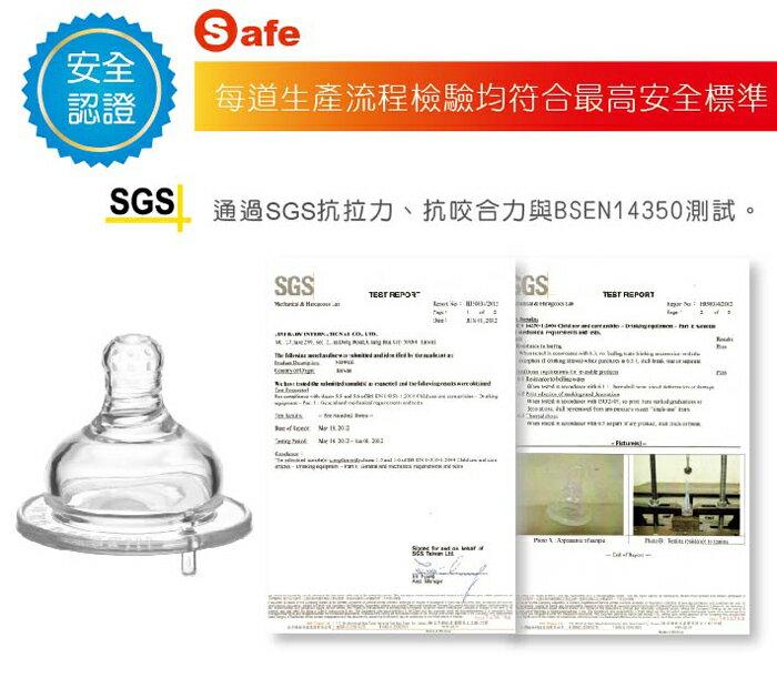 『121婦嬰用品館』KUKU 防脹氣母乳型奶嘴 - 寬口十字 L 2入 5