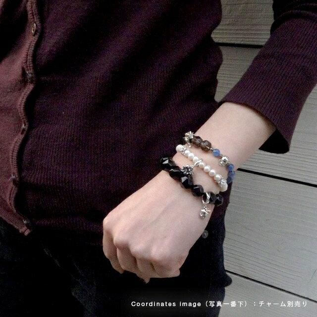【現貨商品】【KONRON】繽紛黑瑪瑙花朵珠珠手環(KRBCB1314-Omix  0640710000) 4