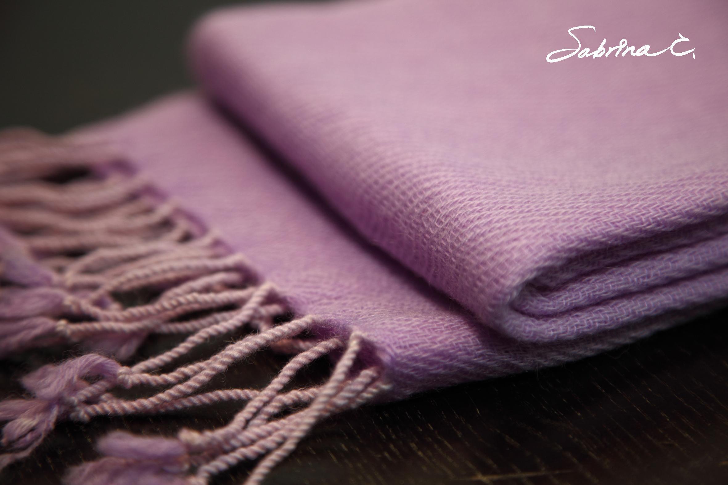 ~Sabrina C~Cashmere迷你厚織圍巾^(14077^)