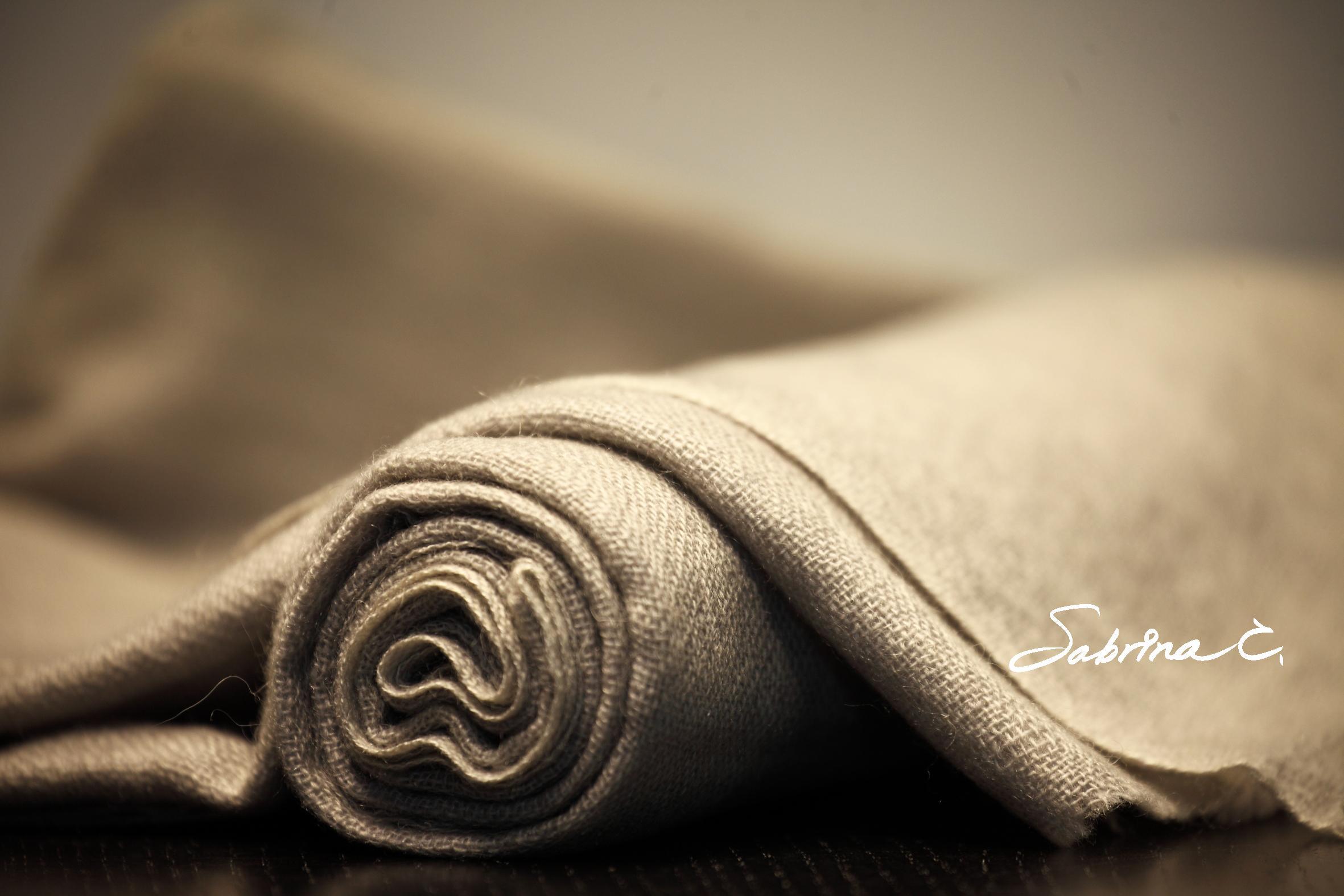 ~Sabrina C~Cashmere薄織圍巾^(16072^)