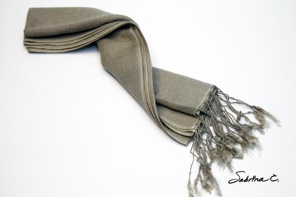 【Sabrina C】70%喀什米爾羊毛 30%絲 圍巾(18007)