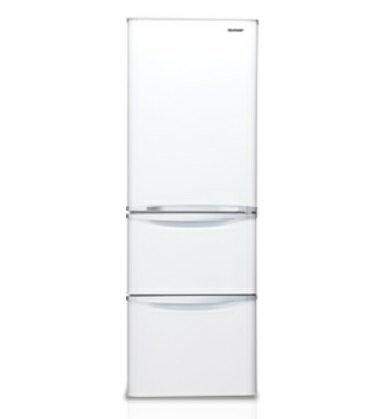 SHARP 夏普 SJ~E38DT~W  SJ~E38DT ^(晶亮白^) 三門環保冰箱