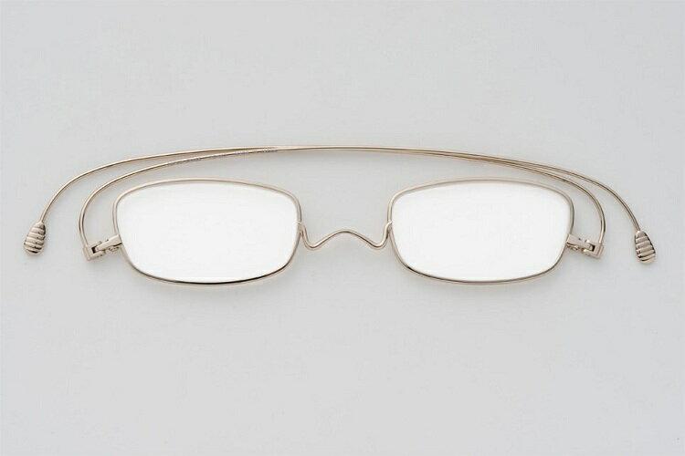 【圓方視集】日本paperglass (型號:SQUARE) 金色
