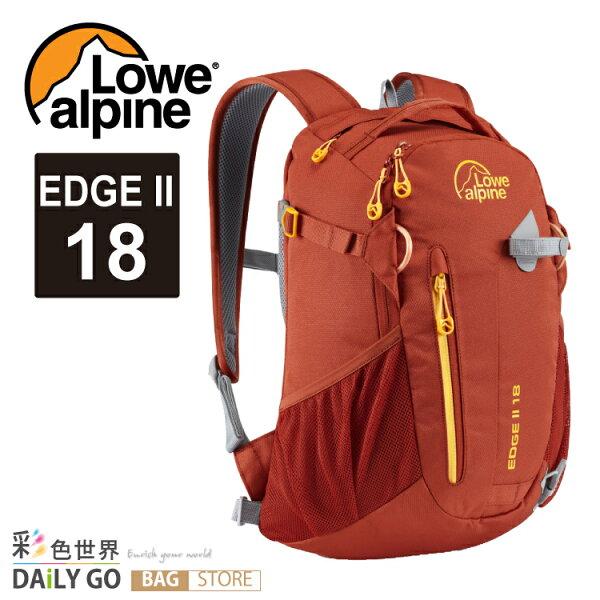 登山包 後背包 Lowe alpine EDGE II 18 -墨西哥紅 FDP-4918T