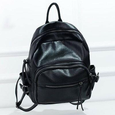 後背包 韓版個性機車包後背包(A832) 共三色/ 寶藍小舖 (現貨販售)