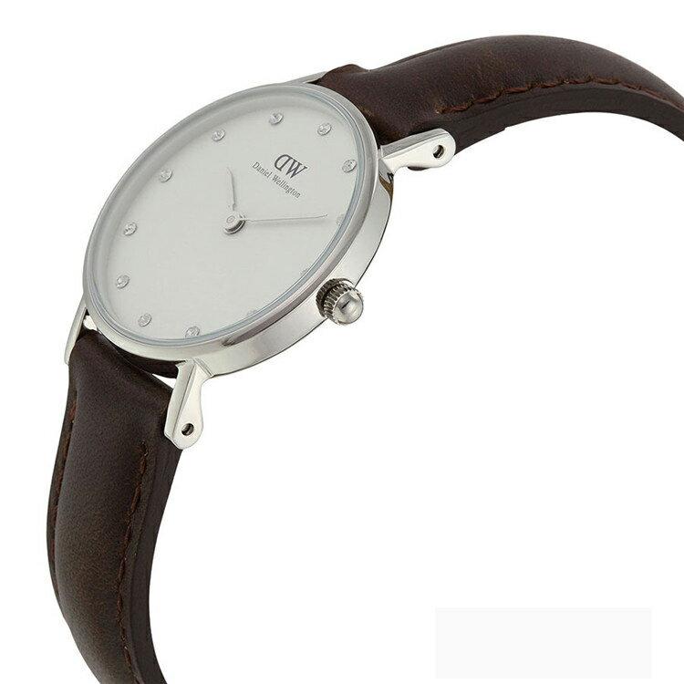 瑞典正品代購 Daniel Wellington 0923DW 銀 玫瑰金  真皮 錶帶 男女錶 手錶腕錶 26MM 3