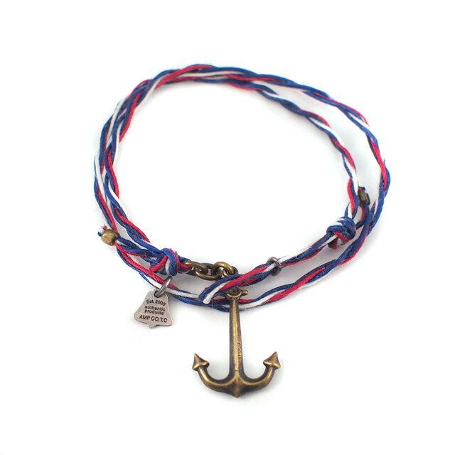 【海外訂購】【amp japan】遊艇繩索銅製海錨手鍊(AMP-12AHO-330  0613480000) 1