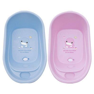 台灣【Kuku 酷酷鴨】幼兒浴盆-小(粉/藍) 0