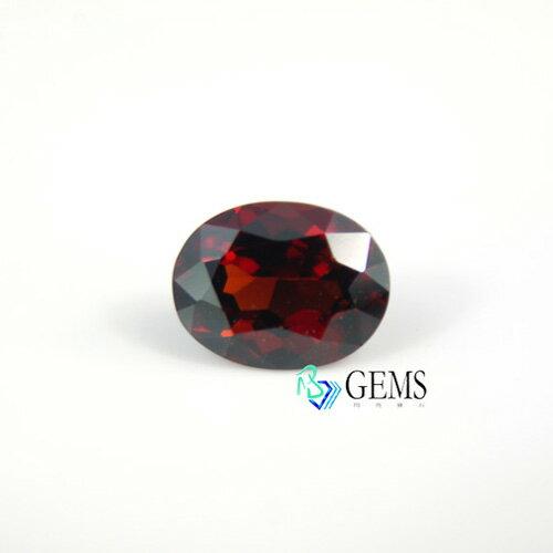 尖晶石spinel 天然深紅色 2.19克拉 附IGI國際寶石證書 Radiant Gems閃亮寶石