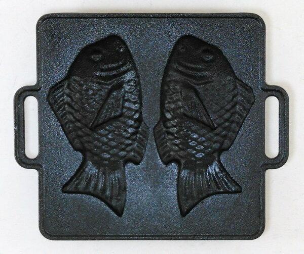 鯛魚燒烤盤 / 鑄鐵烤盤/雞蛋糕烤盤/章魚燒烤盤 / 鑄鐵烤盤