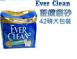 ★優逗★Ever Clean 藍鑽貓砂 42LB/42磅