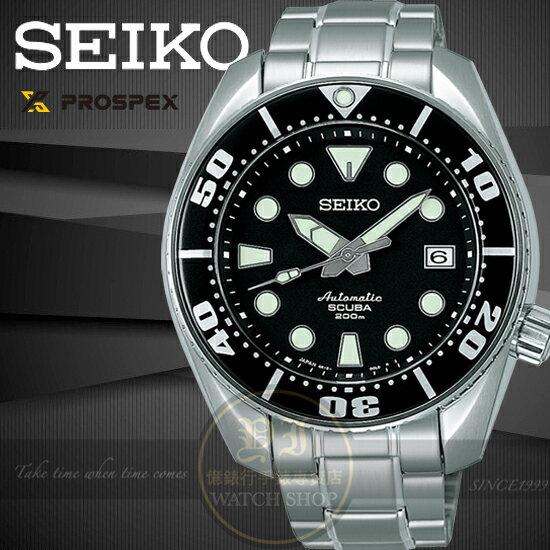 SEIKO日本精工PROSPEX水鬼系列6R15機械潛水腕錶6R15-00G0D/SBDC001J公司貨