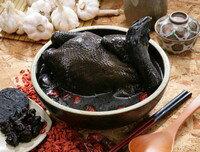 黑蒜養生烏骨雞湯★