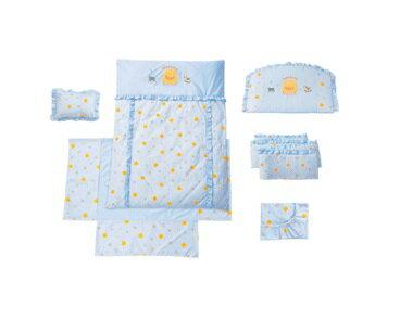 【特惠組】黃色小鴨嬰兒床+7件床被組(3色) 3