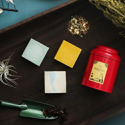《雪文洋行》青草潤喉香茶好日子80gx1+小時光20gx1-複方花草茶系列 1