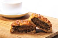 中秋節月餅到[康鼎]經典手藝漢餅七兩三入香菇魯肉+綠豆椪+鴛鴦餅含運特惠組