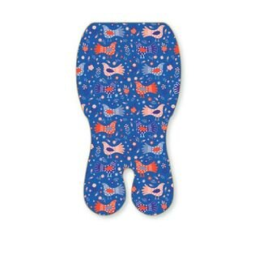 ★衛立兒生活館★Baby Seater 嬰兒專用涼感墊推車涼墊(鴿子波波)+日本專利保冰袋