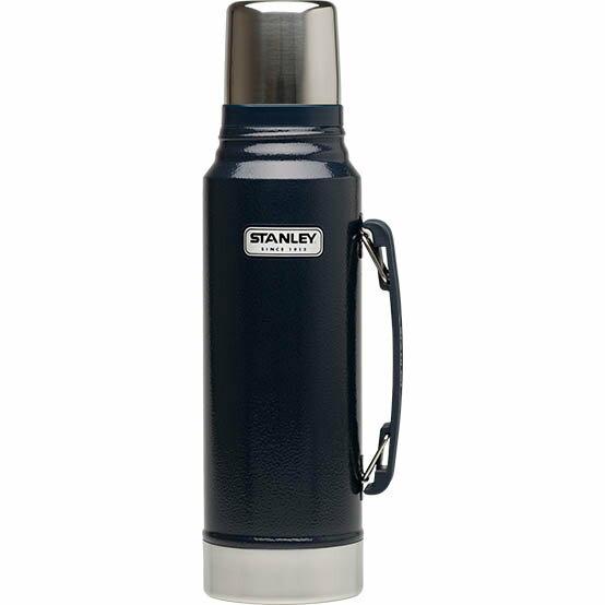 【鄉野情戶外專業】 Stanley |美國|  Stanley 經典真空保溫瓶 1L-藍_10-01254
