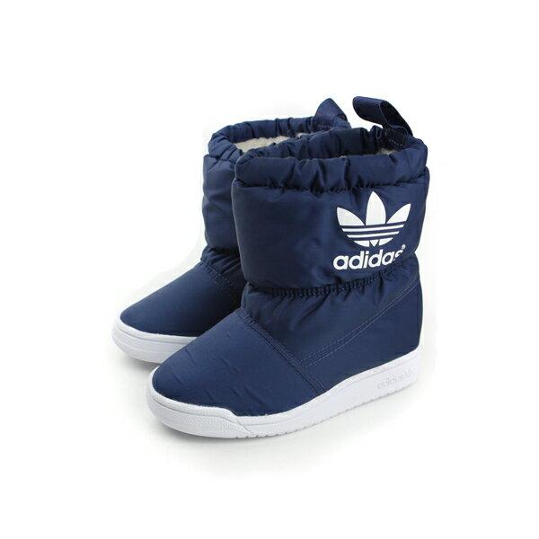 adidas SLIP ON BOOT I 短靴 灰藍 小童 no165